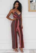 Load image into Gallery viewer, BIBI STRIPED JUMPSUIT