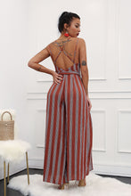 Load image into Gallery viewer, HAVANA STRIPED JUMPSUIT