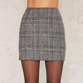 MIND YOUR OWN BUSINESS MINI SKIRT