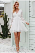 Load image into Gallery viewer, ANGEL FLARE SLEEVE DRESS