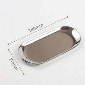 METAL OVAL TRAY