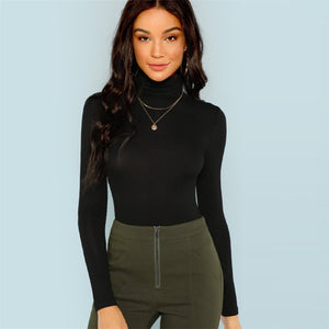 KNOW ME TURTLENECK TOP