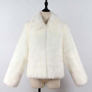 FUR MY LOVER FAUX FUR COAT