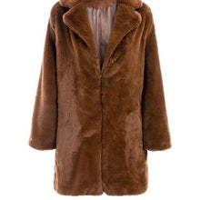Load image into Gallery viewer, COZY FAUX FUR COAT