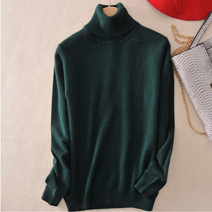 CELINE CASHMERE TURTLENECK SWEATER
