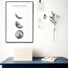 Load image into Gallery viewer, MOON PHASES ON CANVAS