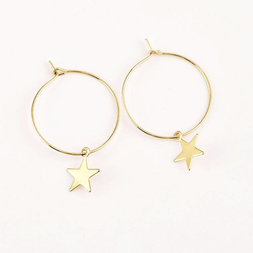 STAR PENDANT EARRINGS