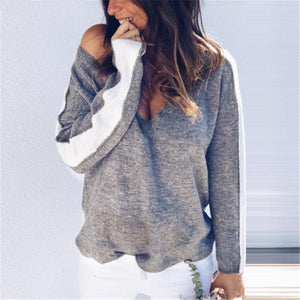 DAY OFF LOOSE OFF SHOULDER SWEATER