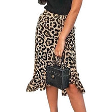 Load image into Gallery viewer, KILLIN' IT MIDI SKIRT - LEOPARD