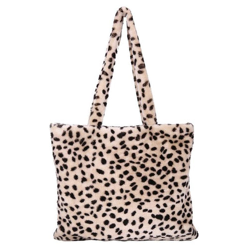 ALL FUR YOU LEOPARD SHOPPER