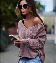 Load image into Gallery viewer, LAZY DAY KNITTED SWEATER