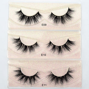 MINK FALSE EYE LASHES - 1 PAIR