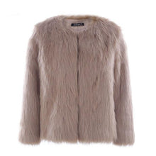 Load image into Gallery viewer, DRESS TO IMPRESS FAUX FUR COAT