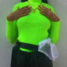Load image into Gallery viewer, NEON TURTLENECK TOP