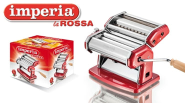 "IMPERIA PASTA MACHINE "" LA ROSSA "" - Mabrook Hotel Supplies"