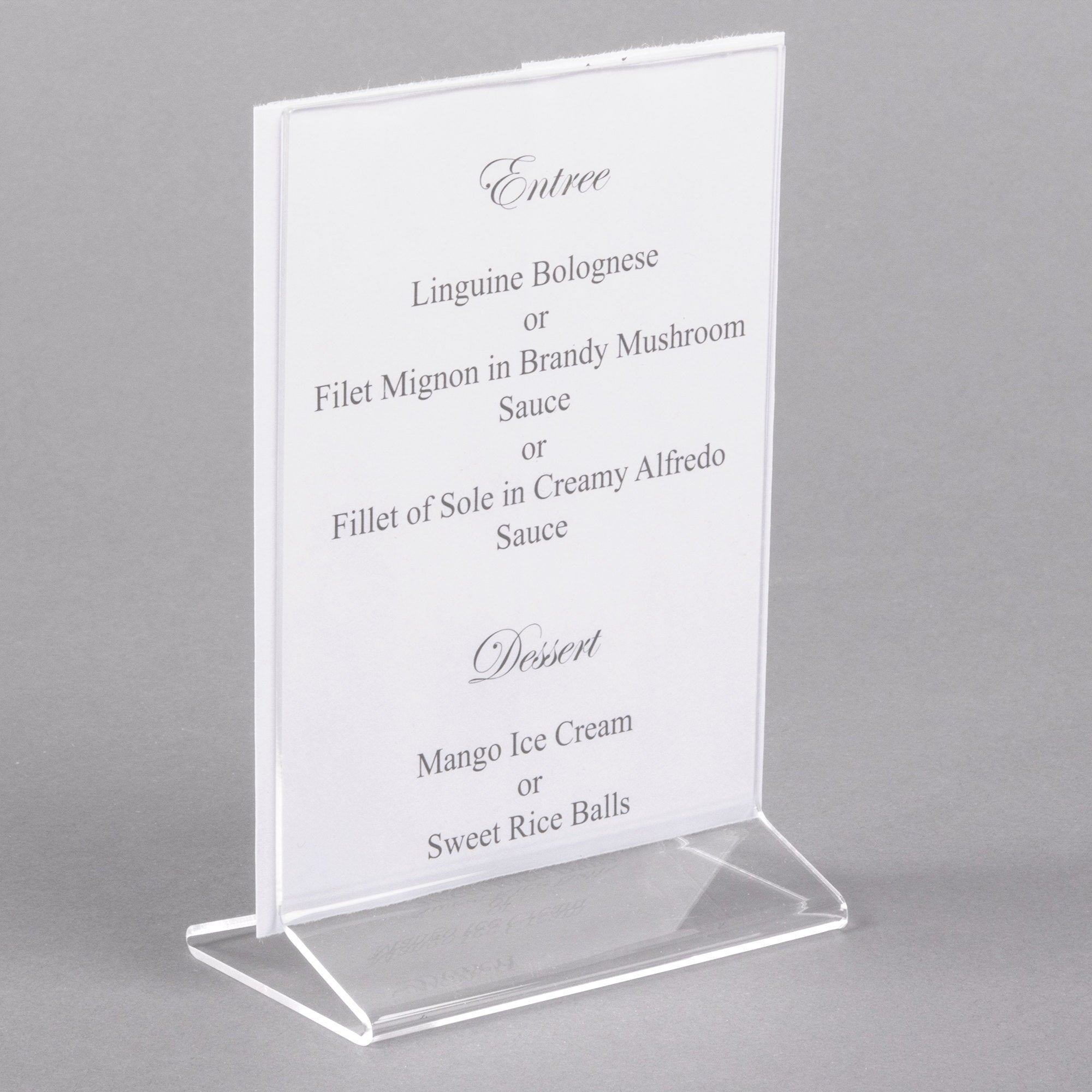 CLASSIC STANDARD TABLETOP CARDHOLDER - Mabrook Hotel Supplies