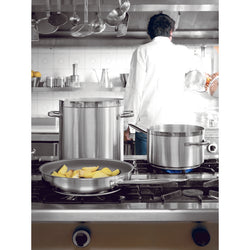 FRYPAN WITH NON-STICK COATING SERIES 1100 S/STEEL - Mabrook Hotel Supplies