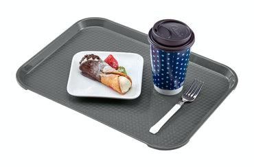 CAMBRO FAST FOOD TRAY PEARL GREY - 30X41 CM - Mabrook Hotel Supplies