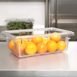 Cambro, Polycarbonate Food Storage Box (Medium), CLEAR - Mabrook Hotel Supplies