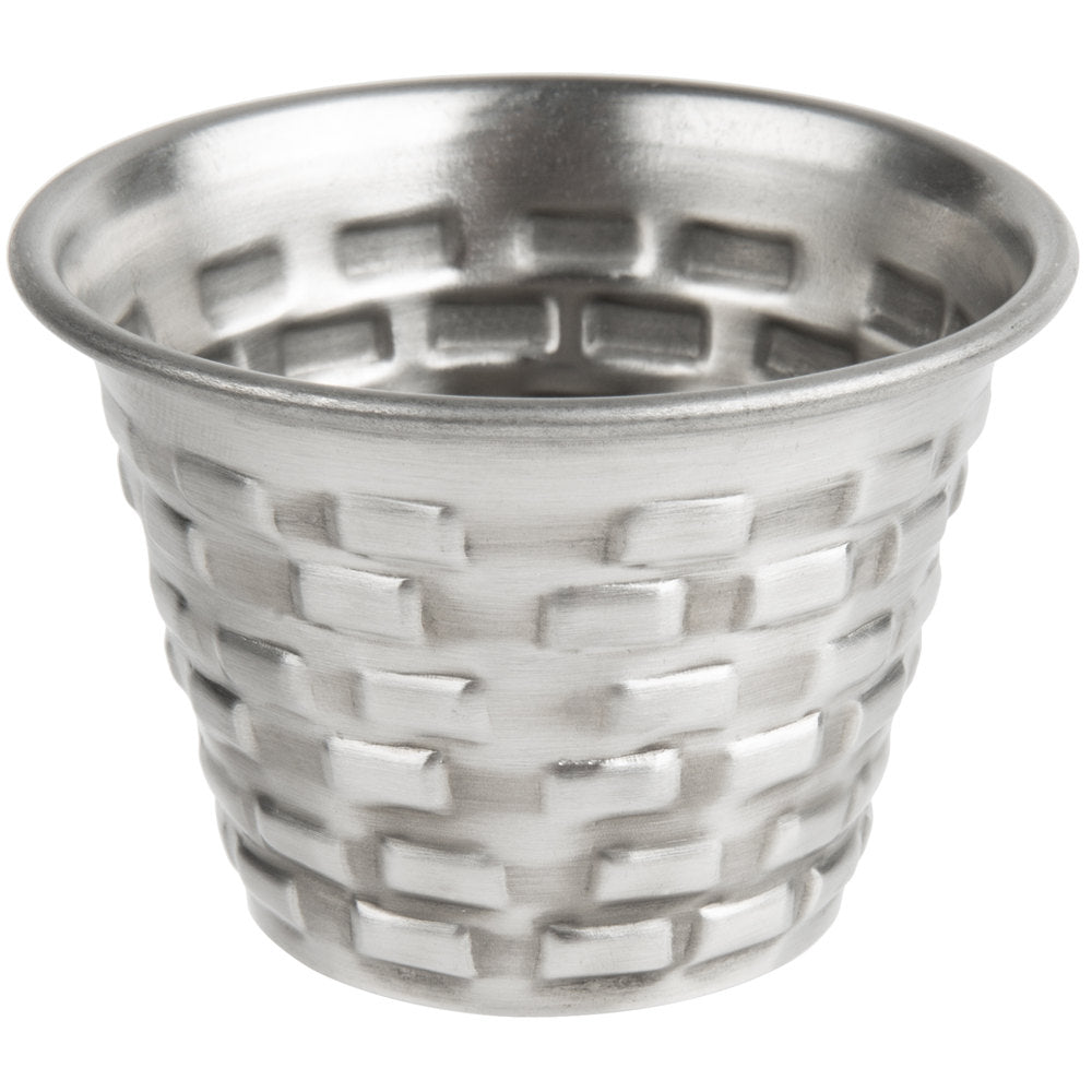 RAMEKIN BRICKHOUSE. STAINLESS STEEL.CAP:2.5 OZ, DIM:2X1.75