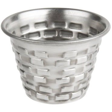 "RAMEKIN BRICKHOUSE. STAINLESS STEEL.CAP:2.5 OZ, DIM:2X1.75"" H - Mabrook Hotel Supplies"