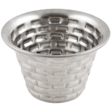 "RAMEKIN BRICKHOUSE. STAINLESS STEEL.DIA:3 OZ, DIM:2.75X1.75""H - Mabrook Hotel Supplies"