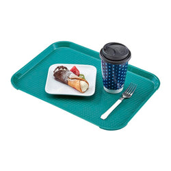 CAMBRO FAST FOOD TRAY TEAL - 30X41 CM - Mabrook Hotel Supplies