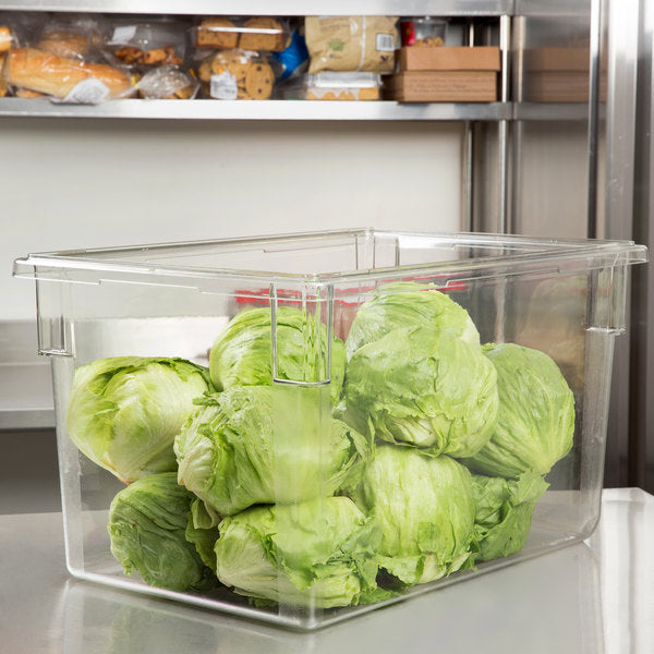 Cambro, Polycarbonate Food Storage Box (big), CLEAR - Mabrook Hotel Supplies