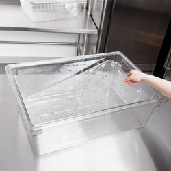 Cambro, Polycarbonate flat Lid & Drain shelf , CLEAR - Mabrook Hotel Supplies