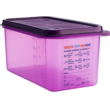 Airtight Container Allergen-Free Polypropylene GN 1/3 - Mabrook Hotel Supplies