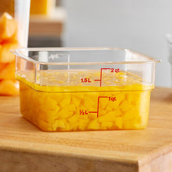 Cambro, Polycarbonate Square Food Storage Container