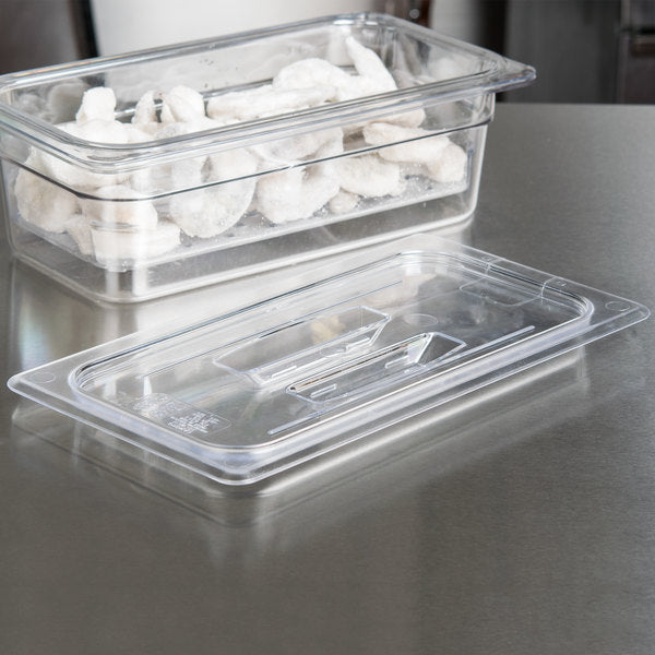 Cambro, GN 1/3 Polycarbonate Lid and Drain Shelf , CLEAR