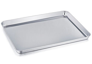 """18-8 S/STEEL SQUARE VAT SIZE:267X206X40MM, T"" - Mabrook Hotel Supplies"