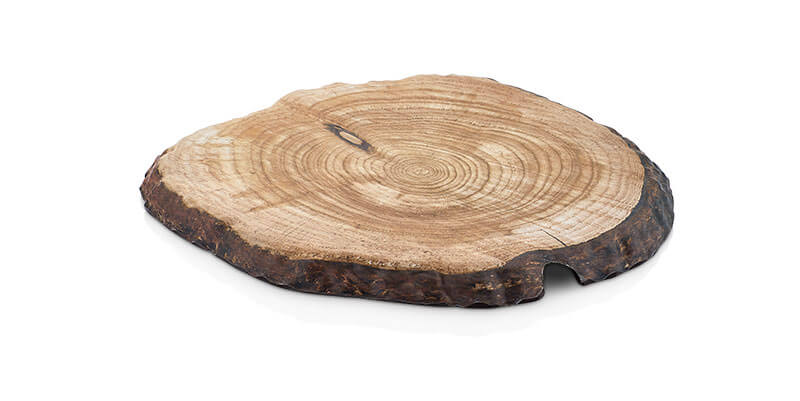 WOOD EFFECT ROUND BOARD - Mabrook Hotel Supplies