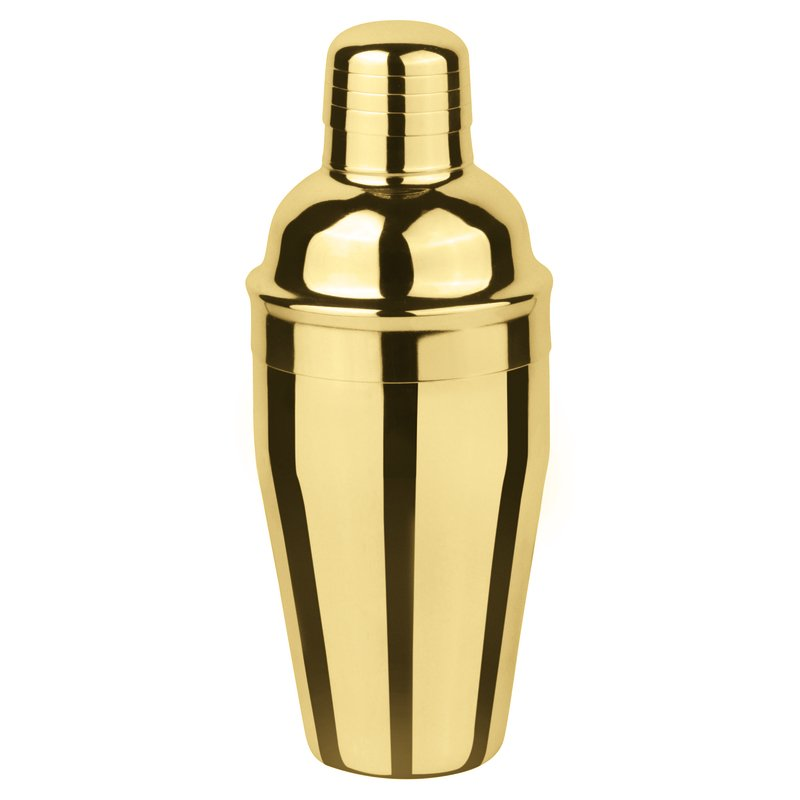 PADERNO LONG-DRINK SHAKER GOLD - 500 ML - Mabrook Hotel Supplies