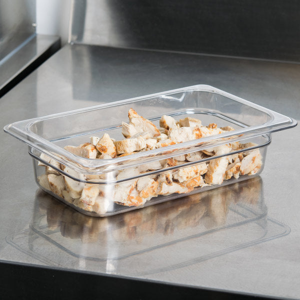 Cambro, GN 1/4 Polypcarbonate food pan, CLEAR - Mabrook Hotel Supplies