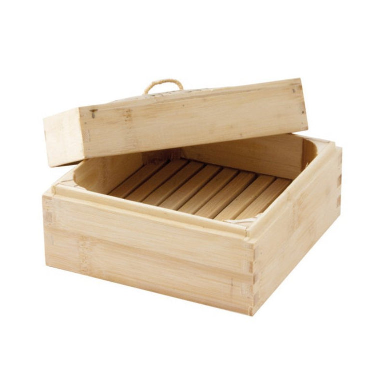 SQUARED STEAMER BAMBOO - Mabrook Hotel Supplies