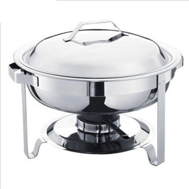 ROUND CHAFING DISH - 3.5L - Mabrook Hotel Supplies