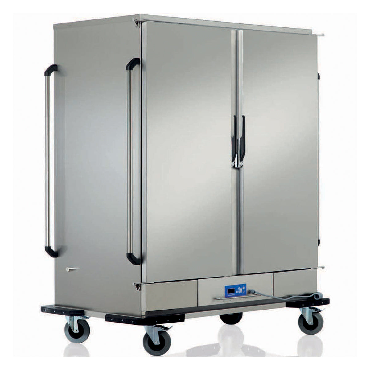 OZTI HEATED BANQUET TROLLEY TWO DOOR - Mabrook Hotel Supplies