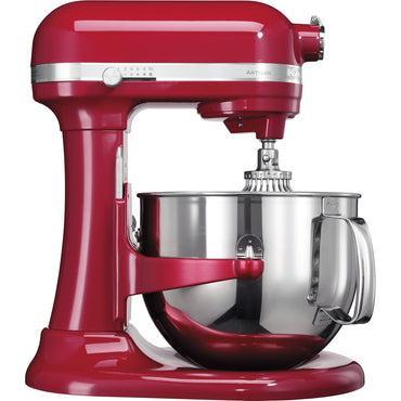 6.9L KITCHENAID ARTISAN BOWL-LIFT STAND MIXER - EMPIRE RED - Mabrook Hotel Supplies