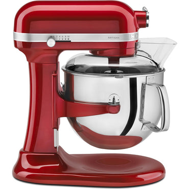 6.9L KITCHENAID ARTISAN BOWL-LIFT STAND MIXER - CANDY APPLE - Mabrook Hotel Supplies