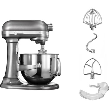 6.9L KITCHENAID ARTISAN BOWL-LIFT STAND MIXER - MEDALLION SILVER - Mabrook Hotel Supplies