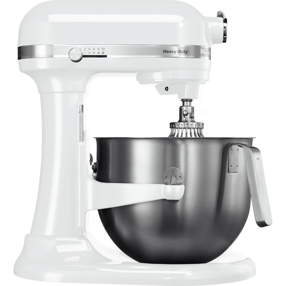 KITCHENAID H-D BOWL-LIFT STAND MIXER 6.9L-WHITE - Mabrook Hotel Supplies