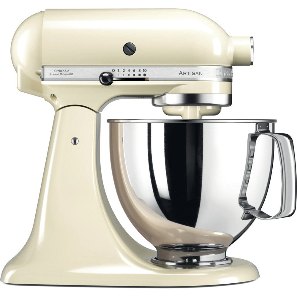 KitchenAid ARTISAN 4.8 L Tilt-Head Stand Mixer - Almond Cream - Mabrook Hotel Supplies