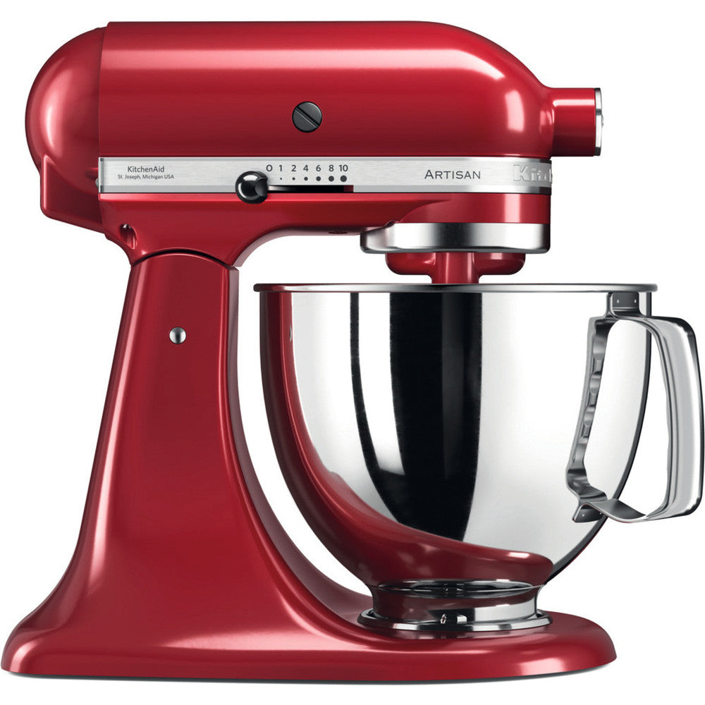 KitchenAid ARTISAN 4.8 L Tilt-Head Stand Mixer - Empire Red - Mabrook Hotel Supplies
