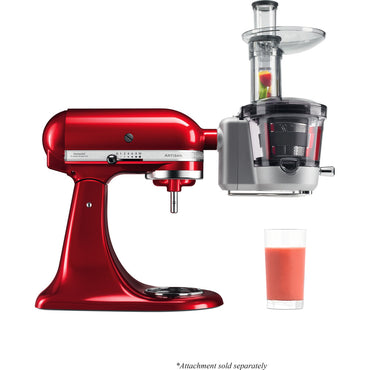 KITCHENAID MAXIMUM EXTRACTION SLOW JUICER AND SAUCE ATTACHMENT