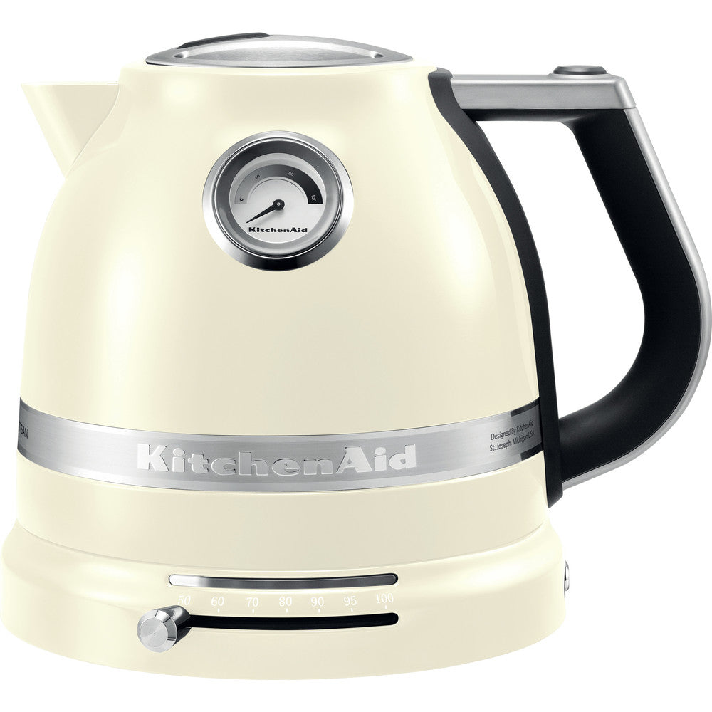 KITCHENAID ARTISAN Kettles 1.5L- ALMOND CREAM - Mabrook Hotel Supplies