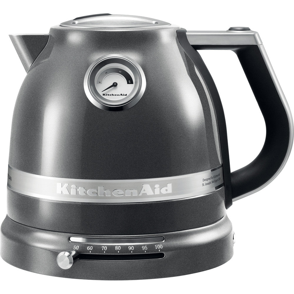 KITCHENAID ARTISAN KETTLE 1.5L- MEDALLION SILVER - Mabrook Hotel Supplies