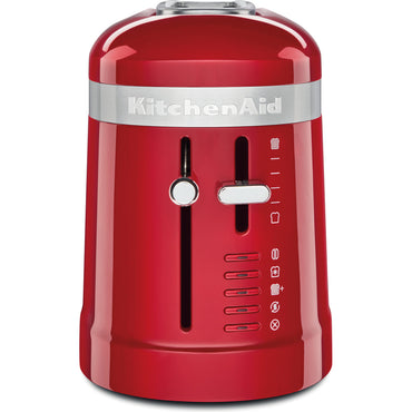 KITCHENAID TOASTER LONG SLOT 2 SLICE - EMPIRE RED - Mabrook Hotel Supplies
