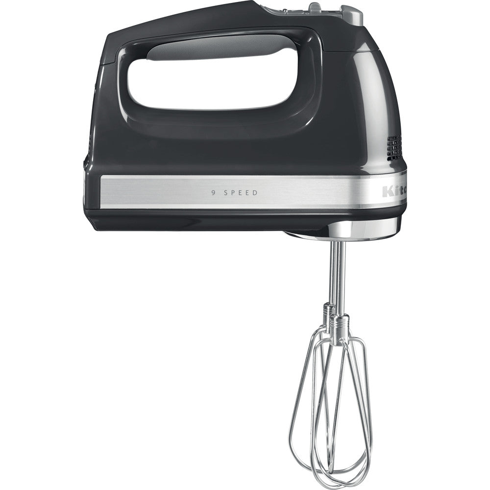KITCHENAID HAND MIXER 9 SPEEDS - ONYX BLACK